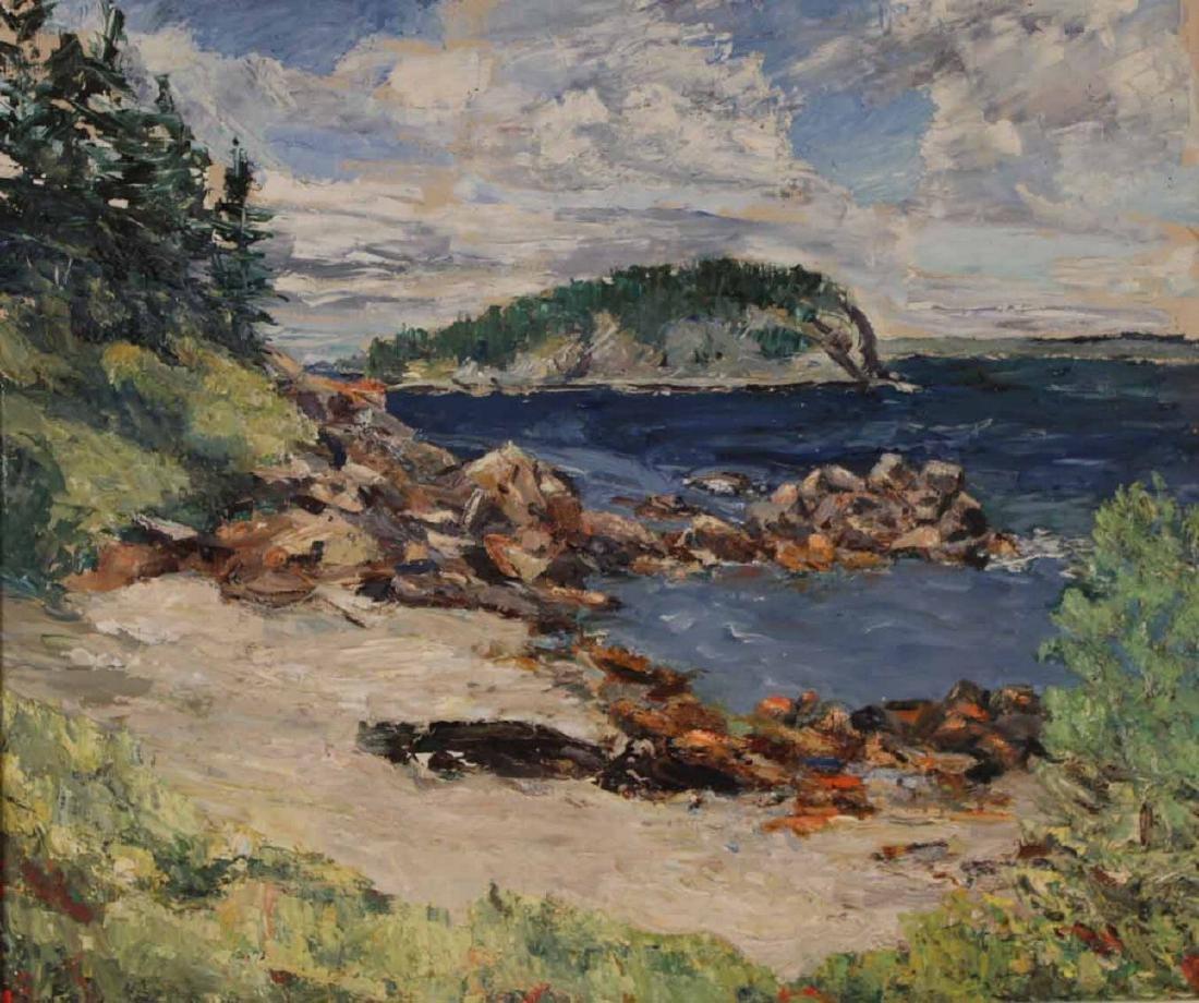 Oil on Canvas, Landscape, Harriet Ogden - 2