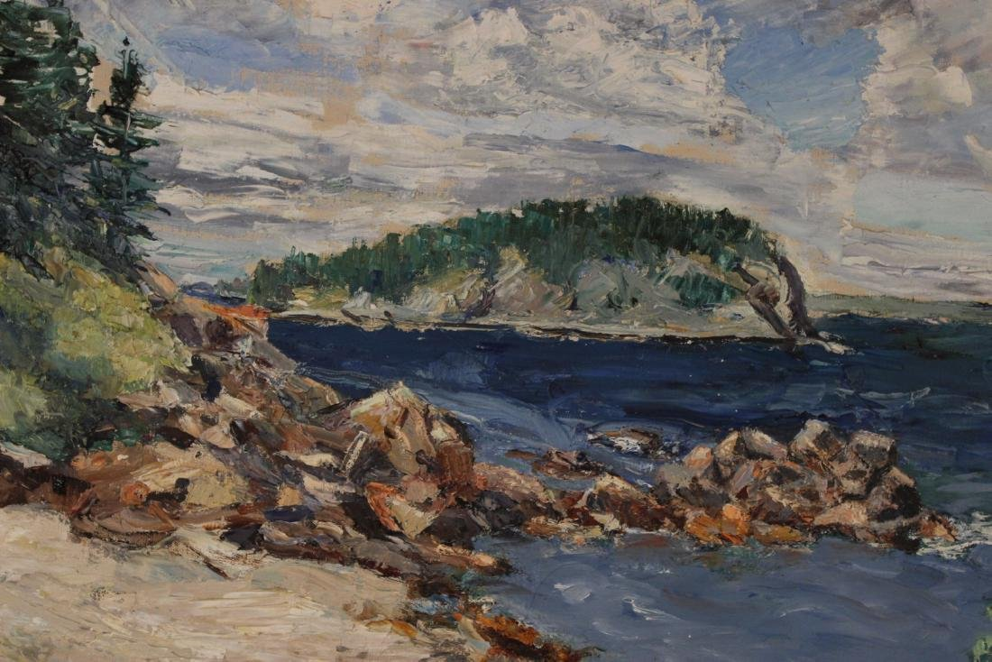 Oil on Canvas, Landscape, Harriet Ogden - 4
