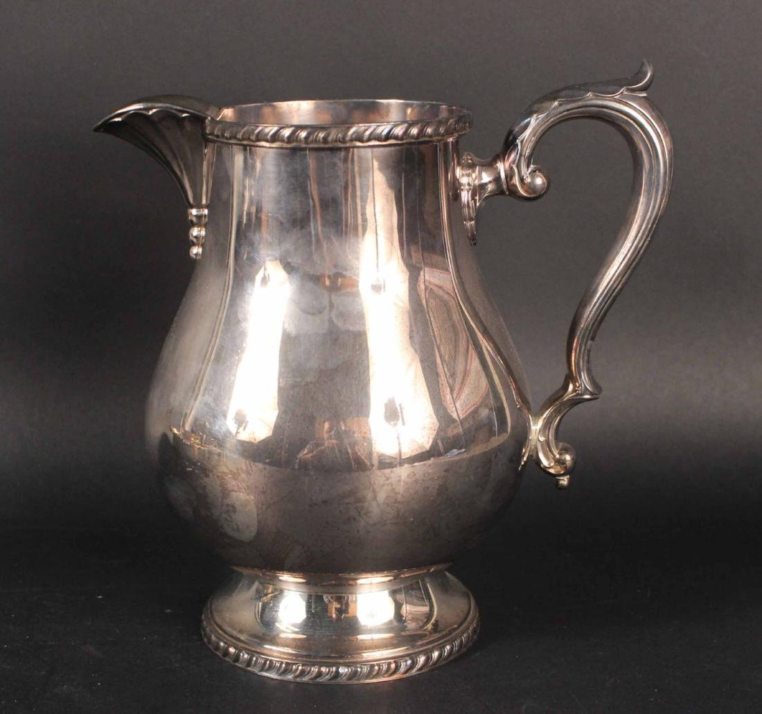 WALLACE SILVER PLATED WATER PITCHER - 2