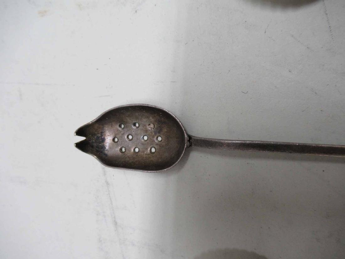 GROUP OF STERLING SILVER SPOONS - 4