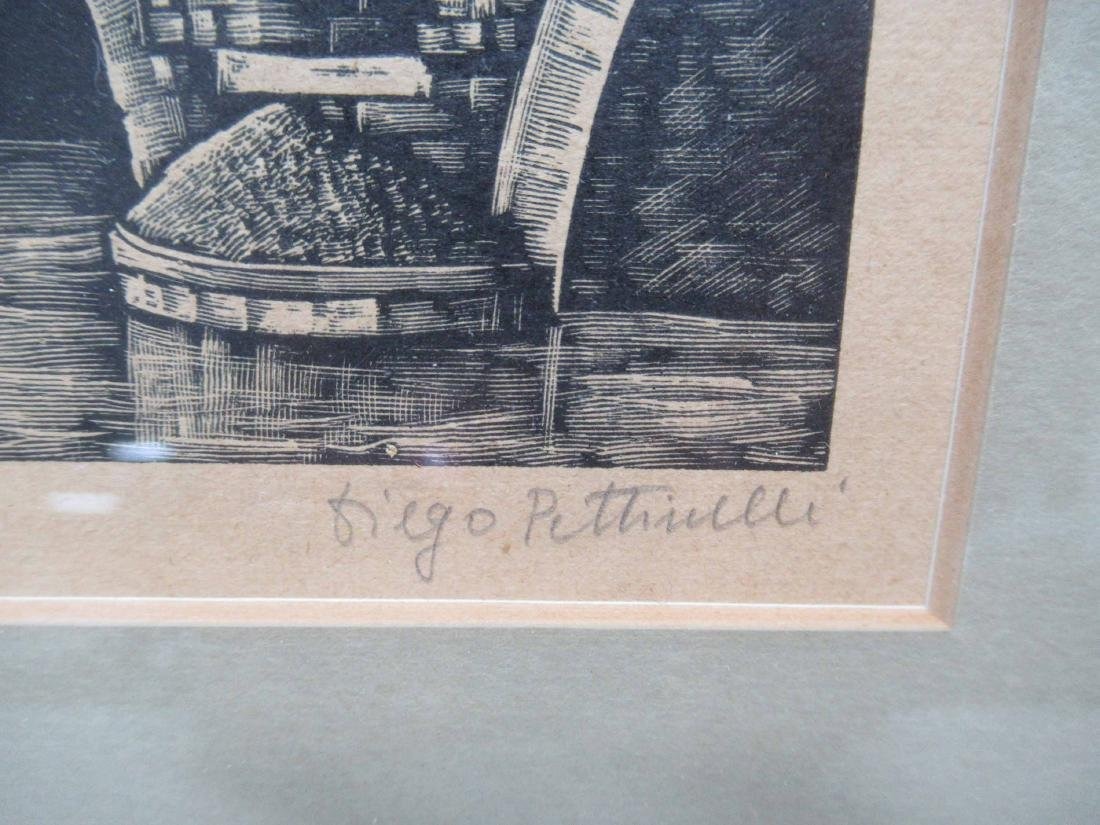 DIEGO PETTINELLI CANAL ENGRAVING - 2