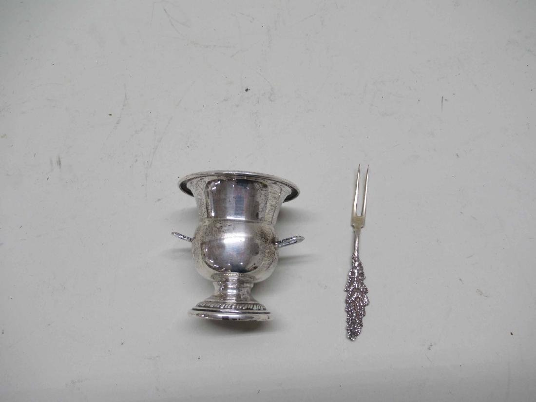 STERLING SILVER MINIATURE URN