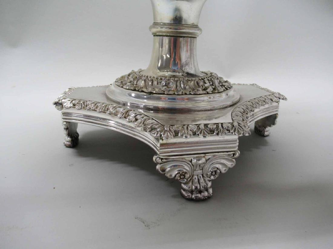 SILVER PLATED HOT WATER URN - 3