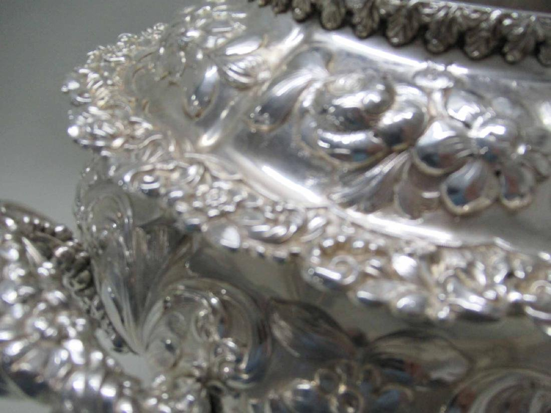 SILVER PLATED HOT WATER URN - 5