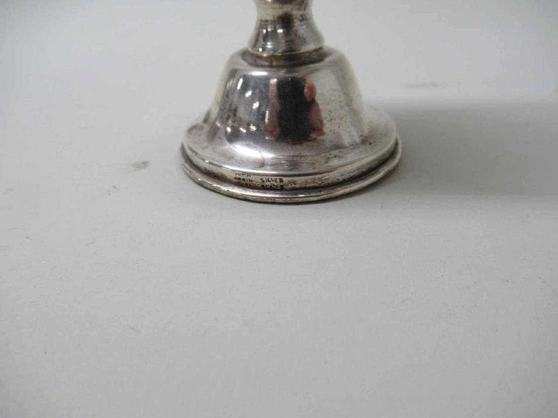 SILVER PLATED YIDDISH CUP - 4