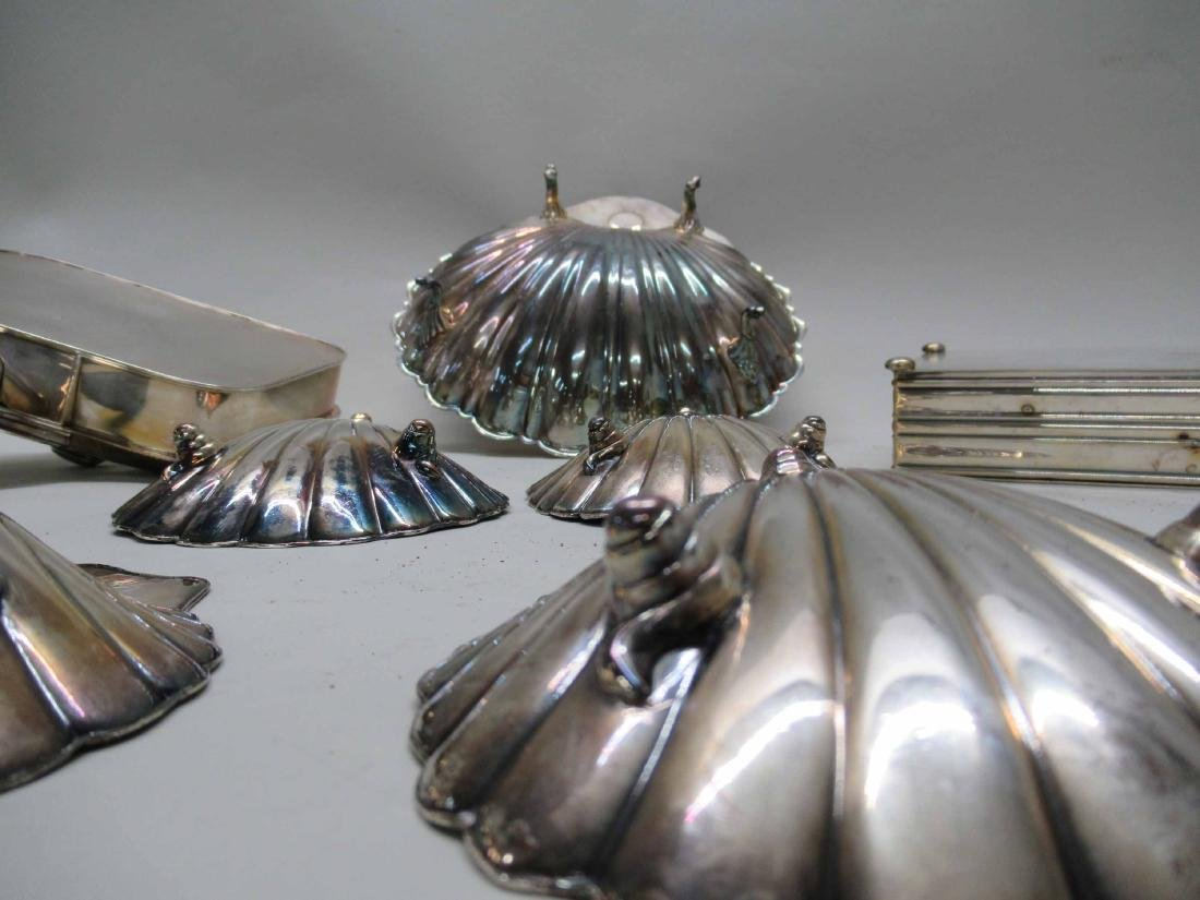 GROUP OF ASSORTED SILVER PLATED TABLE ARTICLES - 3