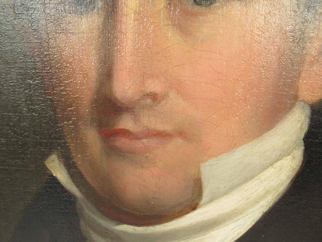 OIL ON CANVAS OF JAMES FREEMAN CURTIS 1797-1839 - 3