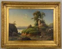 Oil on Canvas, Guiseppe Falchetti,