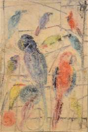 Oil on Canvas, Hunt Slonem, Picul
