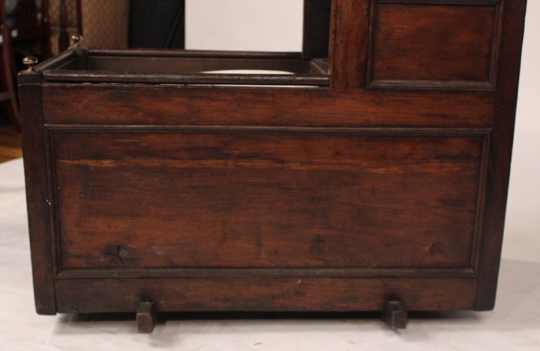 Charles II Style Oak Cradle - 3