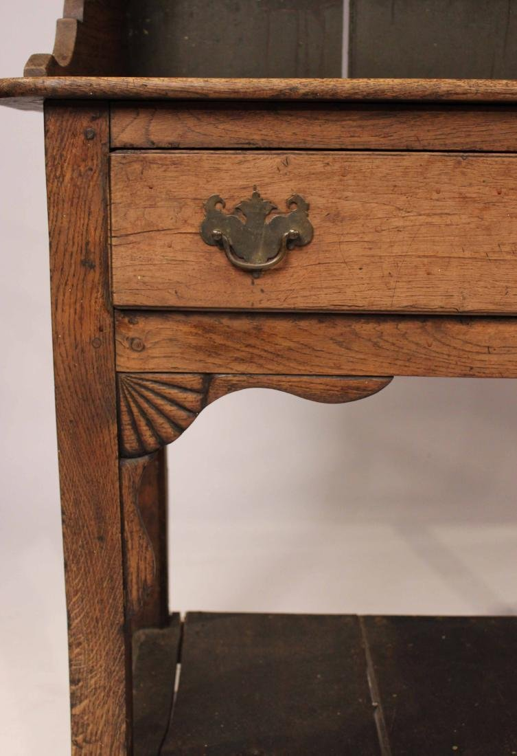 Figured Oak Welsh Dresser - 6