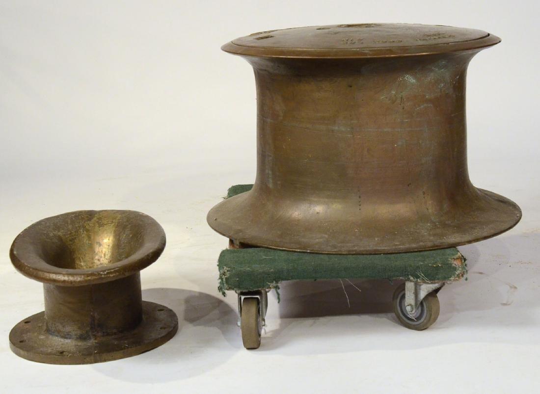 A Brass Nautical Windlass