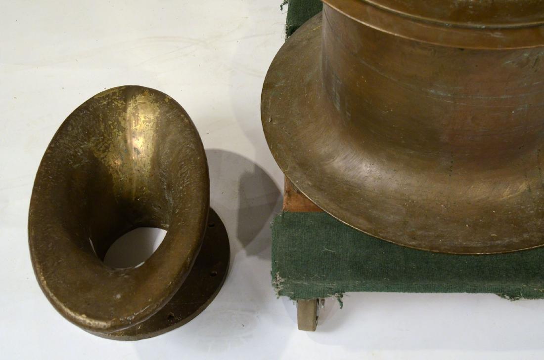 A Brass Nautical Windlass - 5