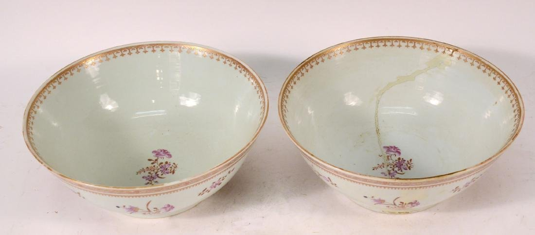 Two Chinese Porcelain Punch Bowls - 2