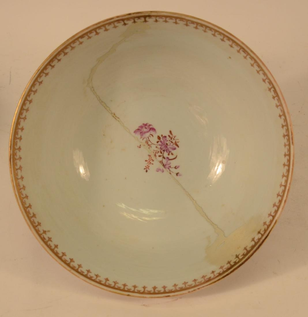 Two Chinese Porcelain Punch Bowls - 3