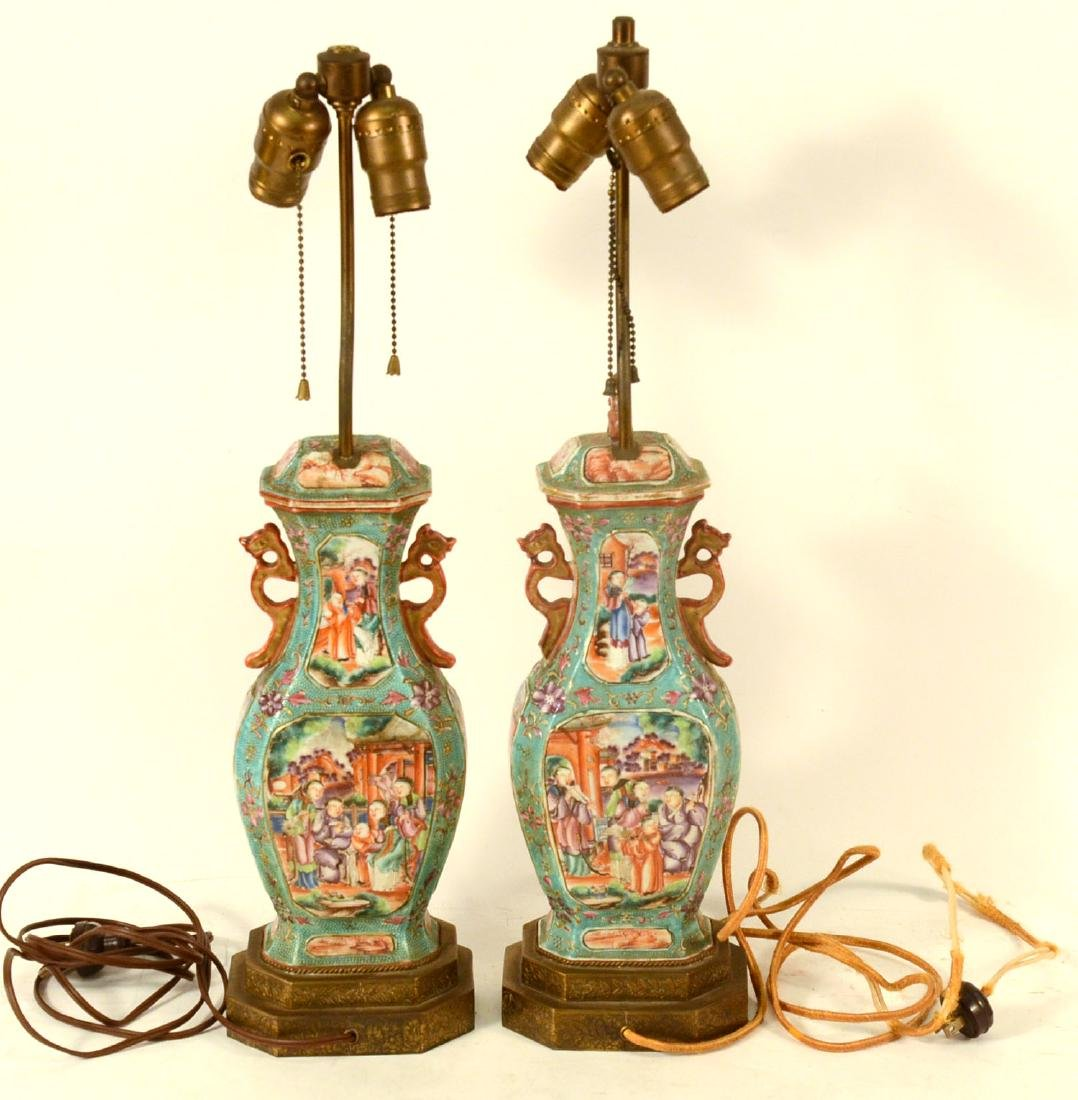 Pair of Chinese Porcelain Covered Jars - 5