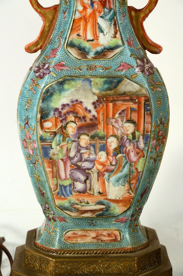 Pair of Chinese Porcelain Covered Jars - 7