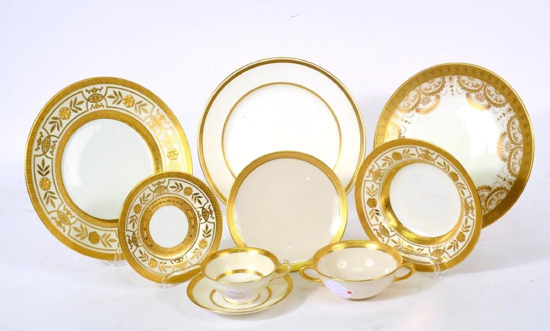 Assembled Minton Porcelain Dinner Set