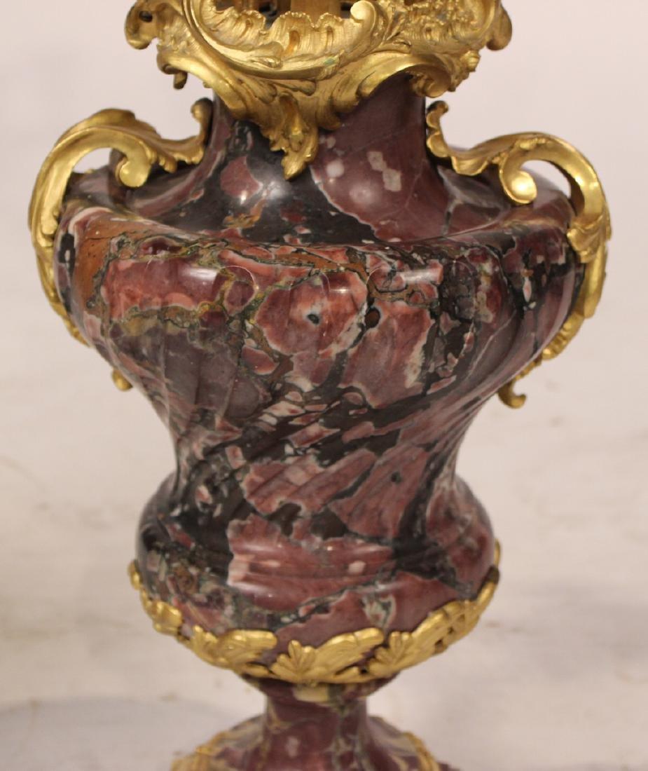Pair of Louis XV Style Six-Light Candelabrum - 4