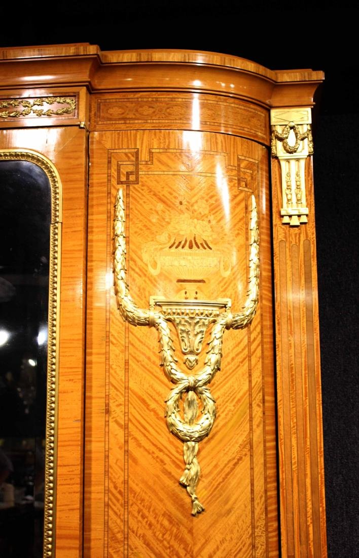 Louis XVI Style Ormolu-Mounted Armoire - 2