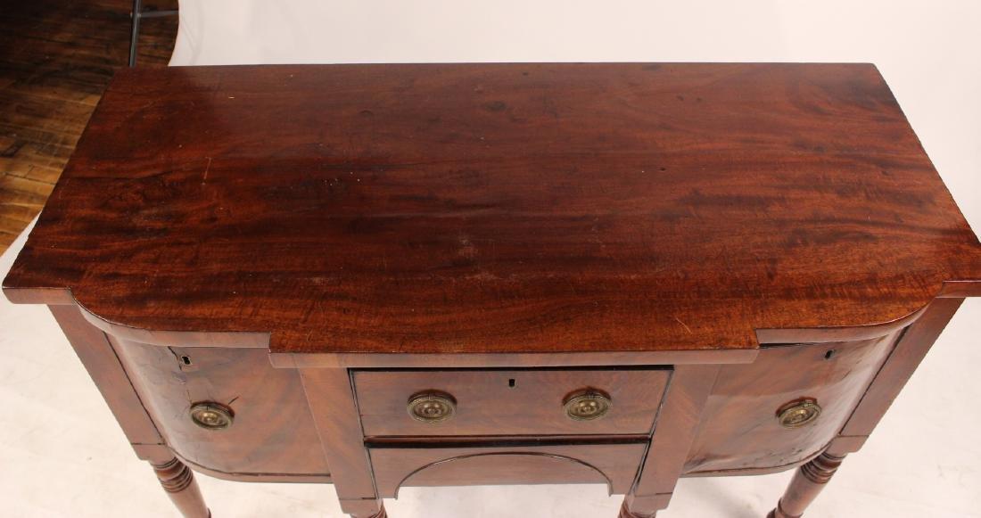 Regency Diminutive Mahogany Sideboard - 3