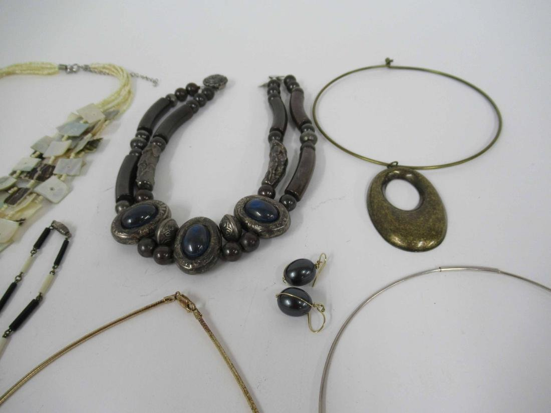 Group of assorted costume jewelry - 3