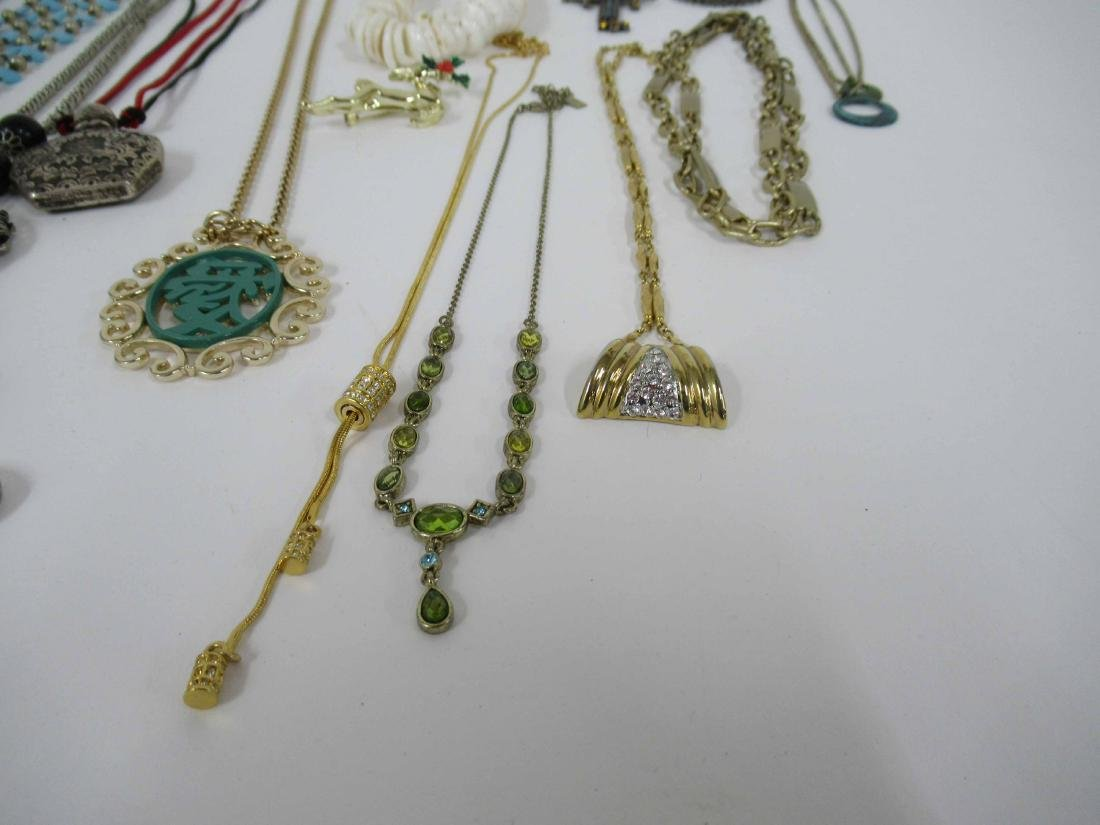 Group of assorted costume jewelry - 6