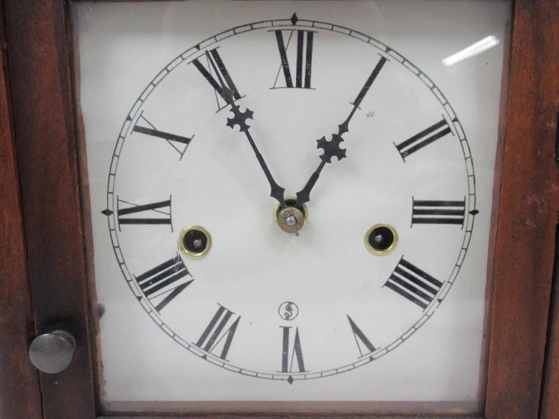 WATERBURY CLOCK CO SHELF CLOCK - 2