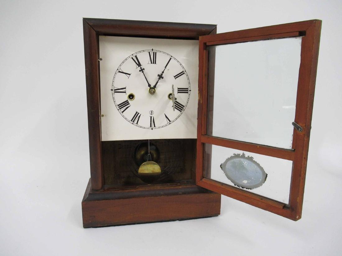 WATERBURY CLOCK CO SHELF CLOCK - 4