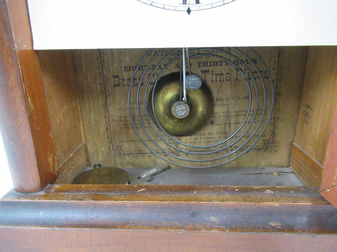 WATERBURY CLOCK CO SHELF CLOCK - 7