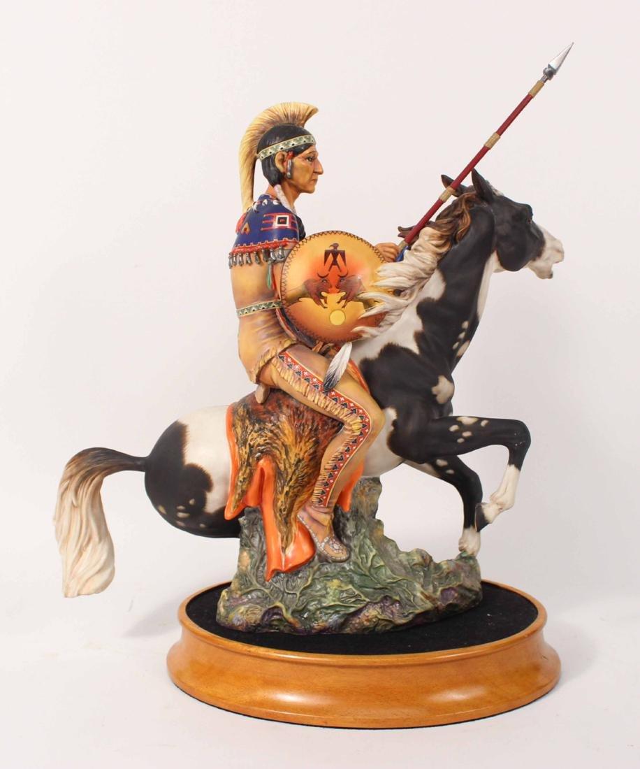 Royal Doulton Porcelain Figure of Indian Brave