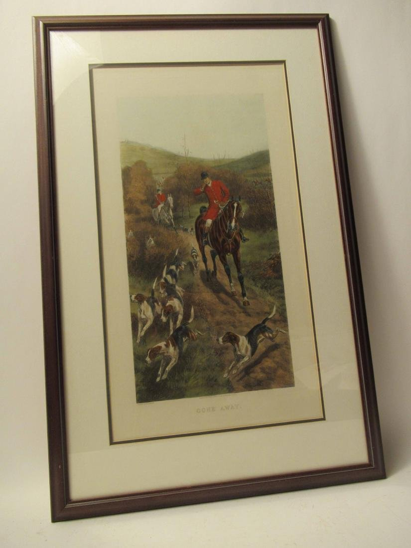 Four Fox Hunting Prints - 2