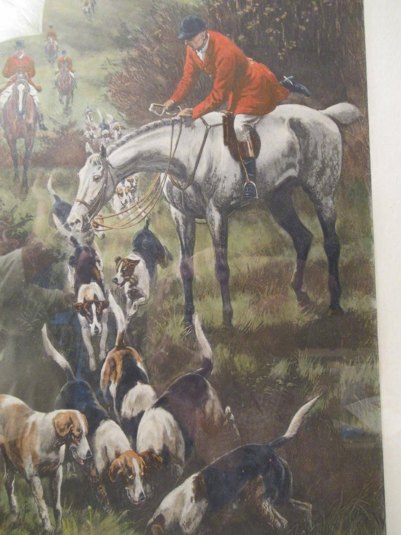 Four Fox Hunting Prints - 3
