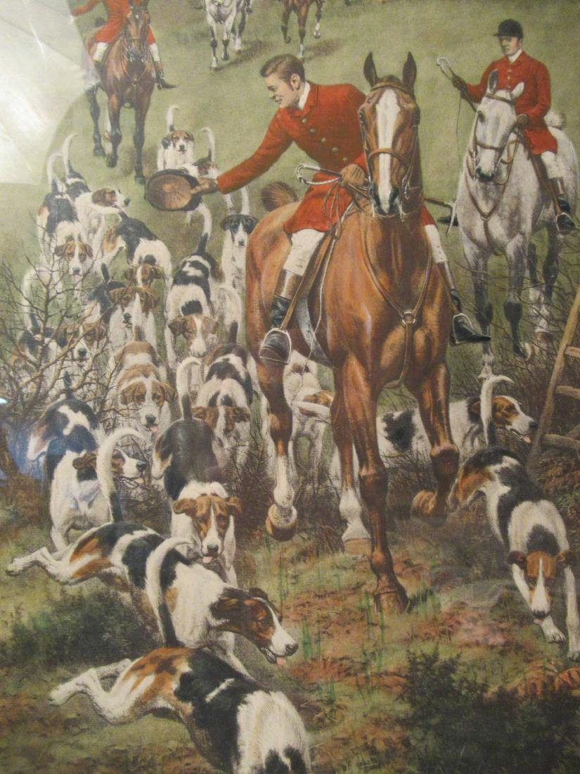 Four Fox Hunting Prints - 4