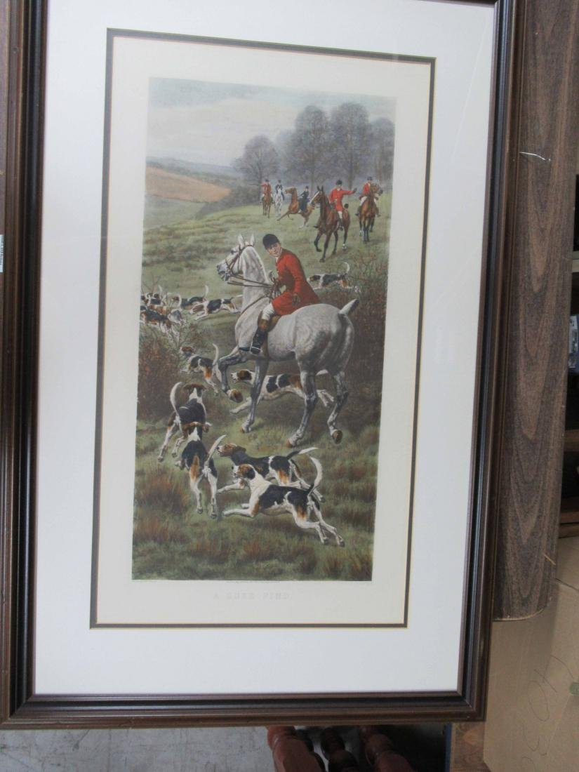 Four Fox Hunting Prints - 6