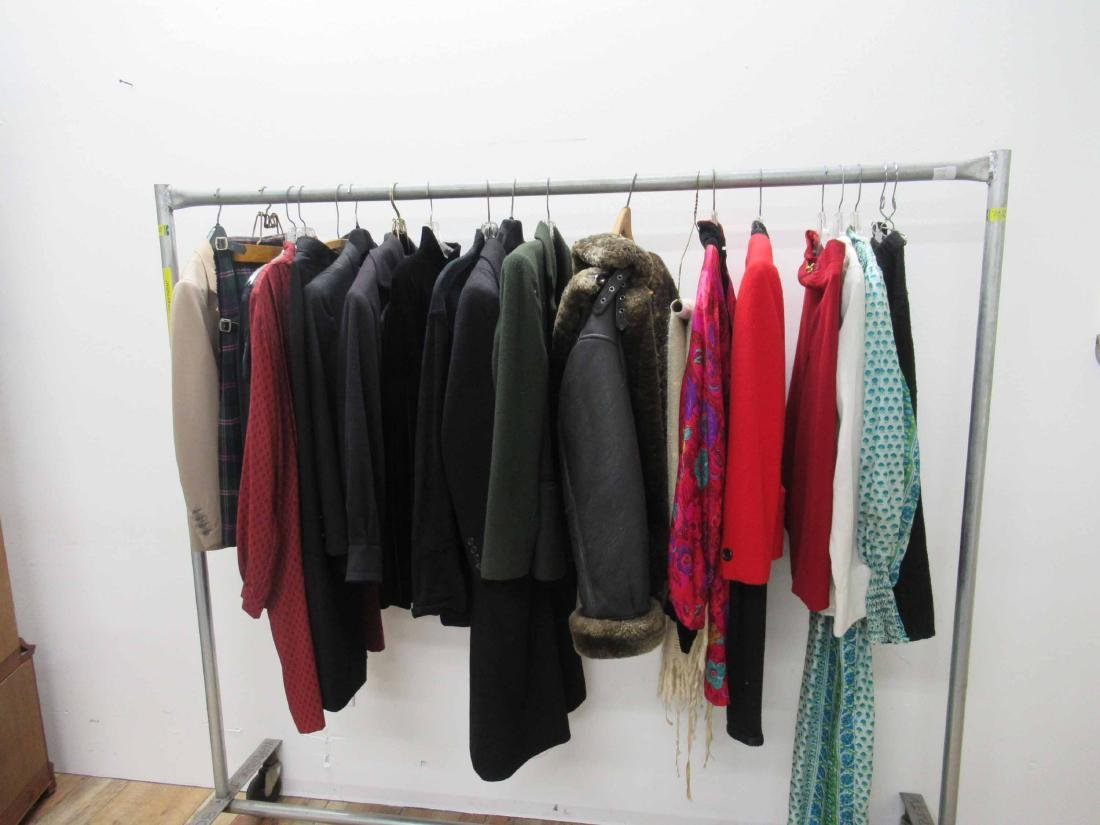 Group of assorted vintage clothing