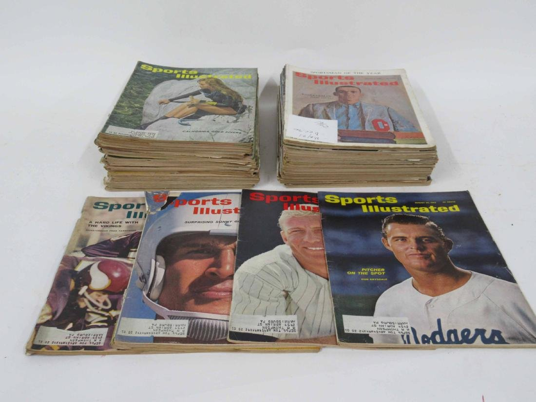 49 Sports Illustrated Issues from 1962