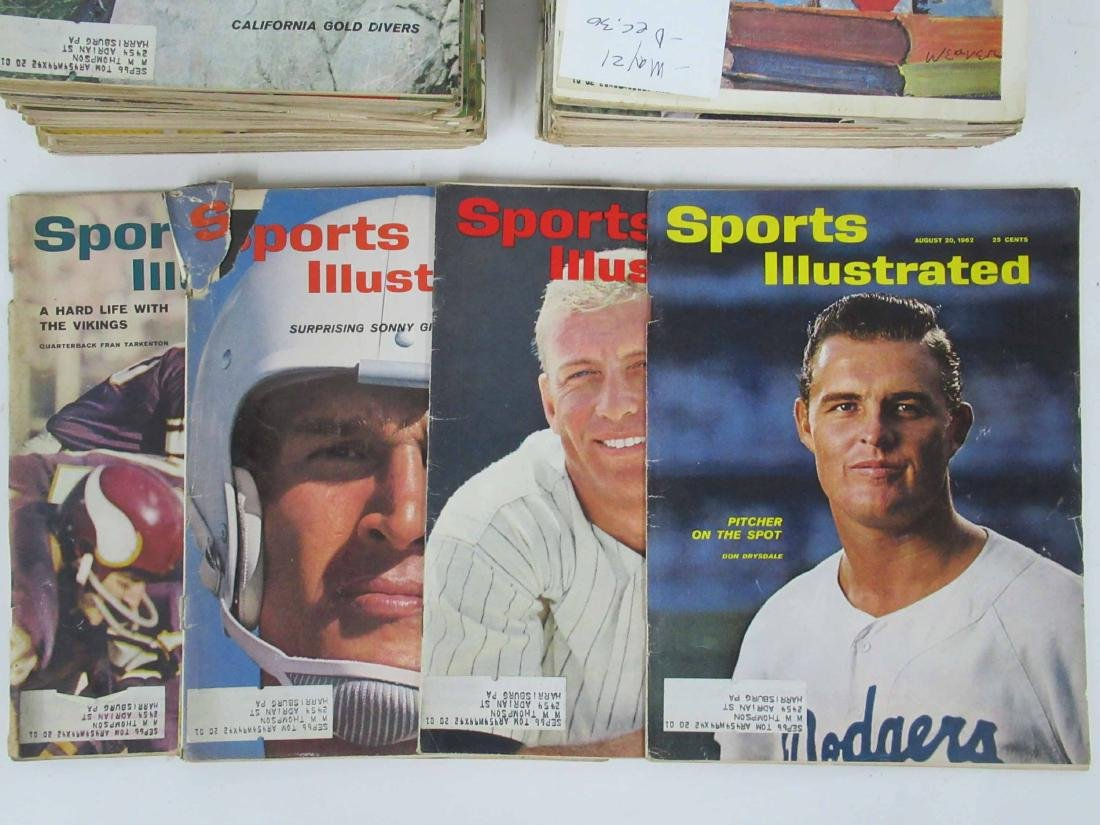 49 Sports Illustrated Issues from 1962 - 3