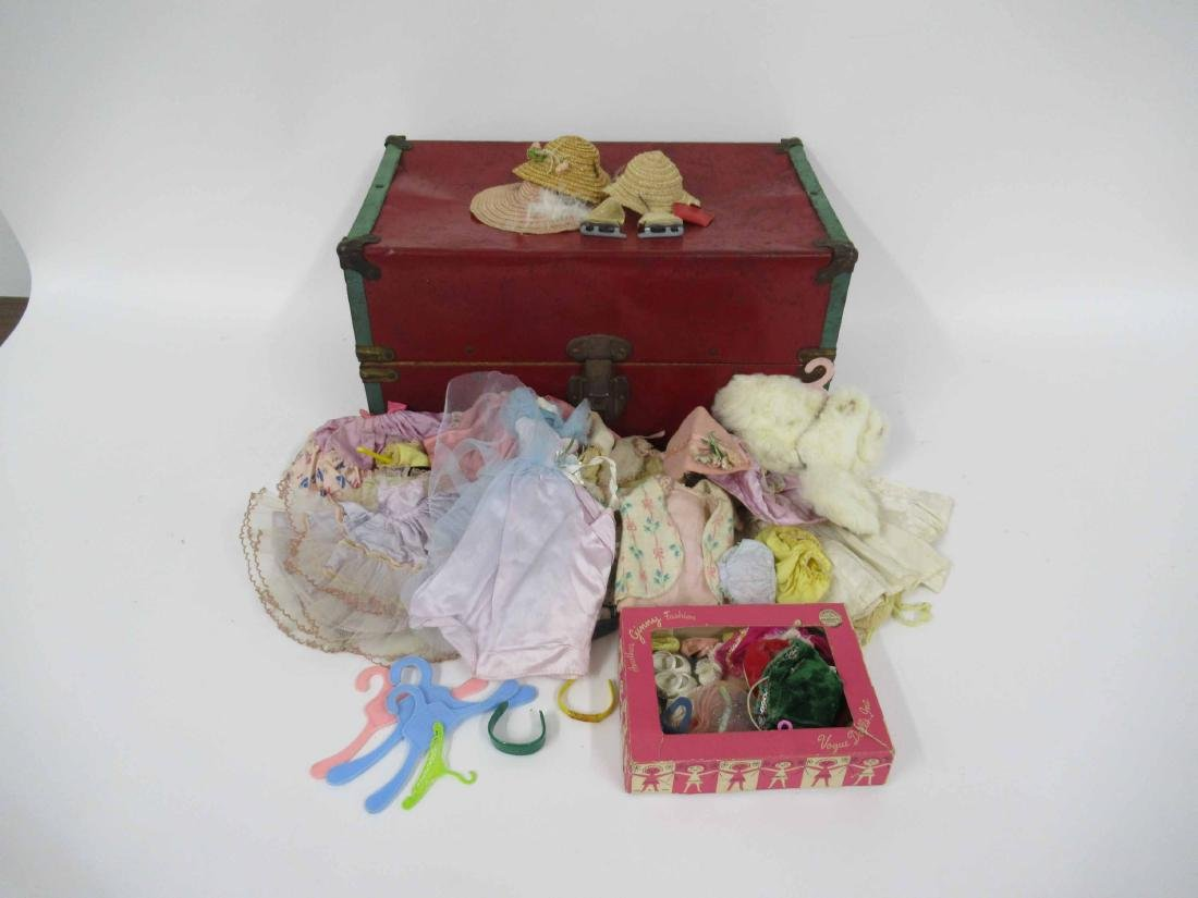 Group of assorted vintage dolls and clothing - 2