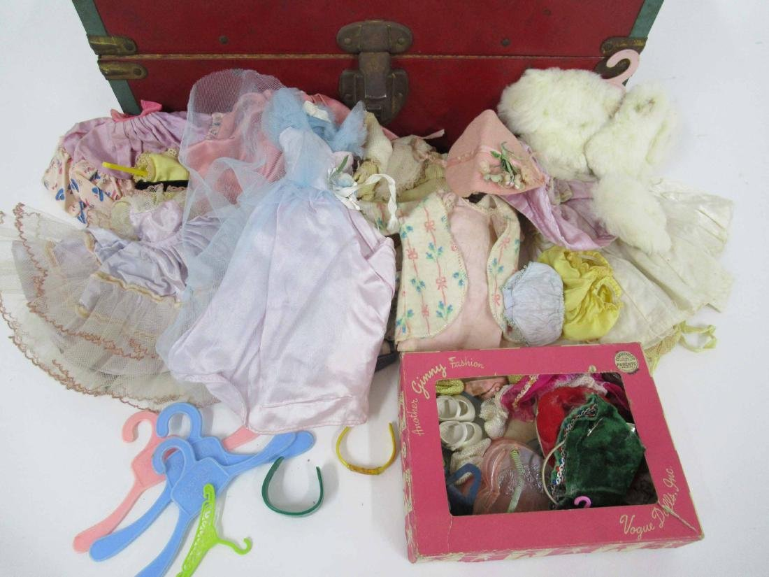 Group of assorted vintage dolls and clothing - 4