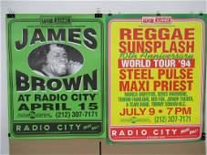 Radio City Music Hall concert poster.
