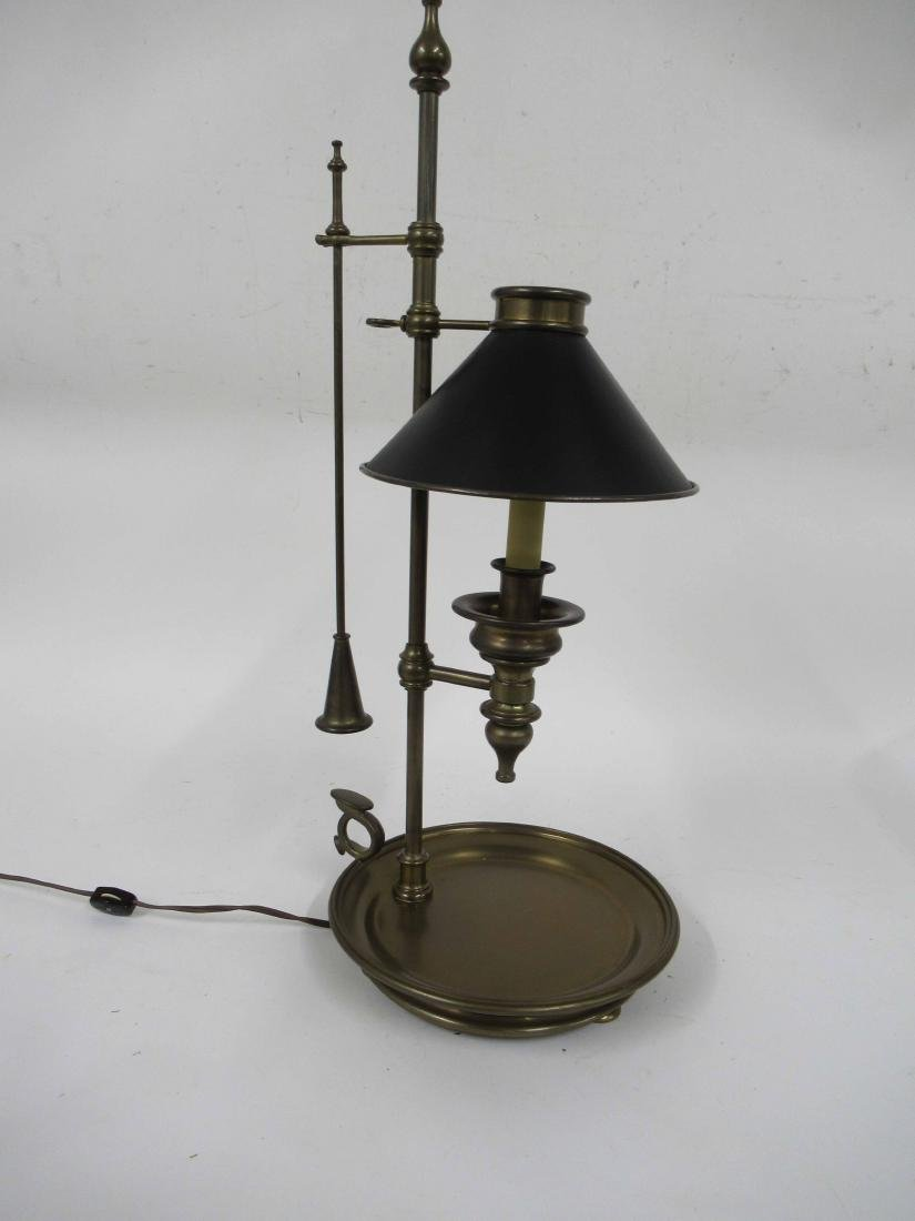 Chapman brass adjustable student lamp
