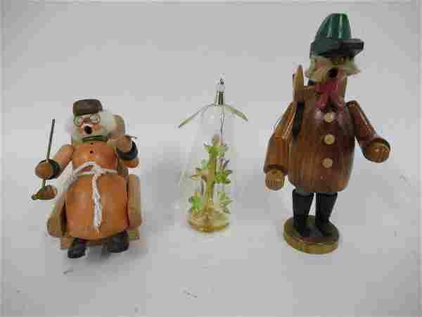 TWO ORIGINAL GERMAN SMOKERS