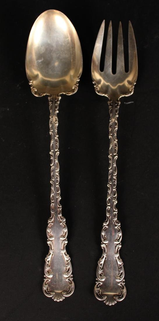 Group of Sterling Silver Flatware Serving - 8