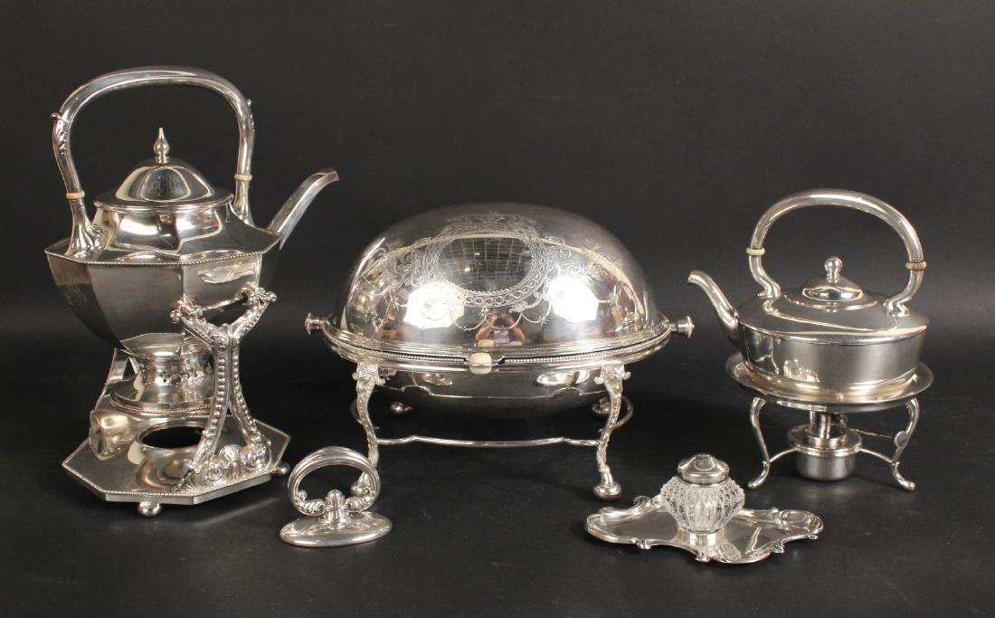 Gorham Silver Plated Hot Water Kettle