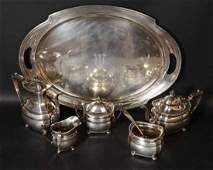 Frank Whiting Sterling Silver Tea  Coffee Set