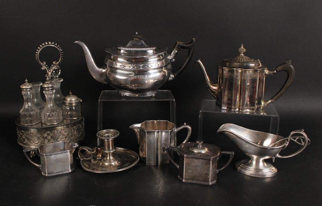 Group of Silver Plated Table Items