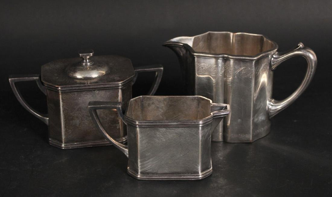 Group of Silver Plated Table Items - 4