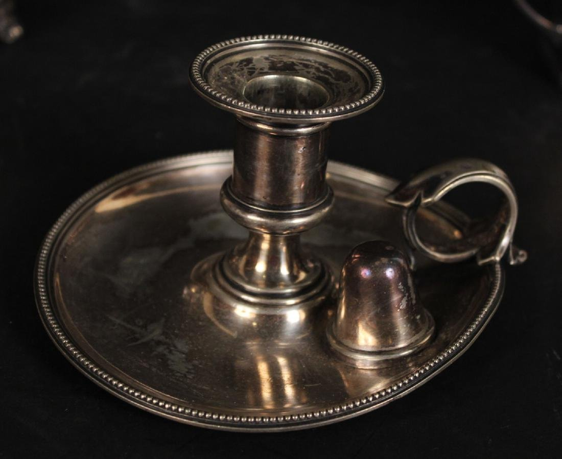 Group of Silver Plated Table Items - 5