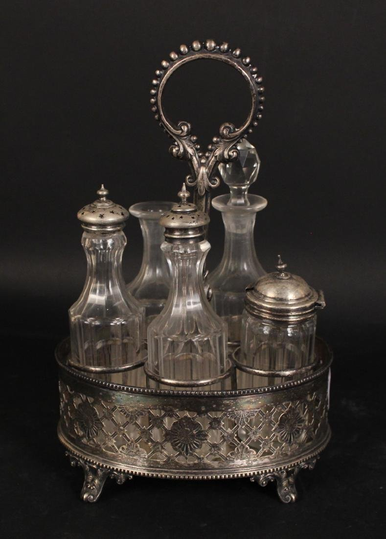Group of Silver Plated Table Items - 6